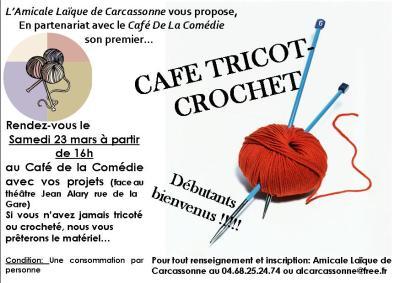 Affiche cafetricot